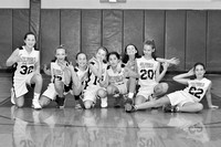 St. Pius X Blue and Gold JV Girls Basketball